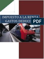 99017403 Gastos Deducibles Inciso d e y f Del Art 37 Tuo Lir