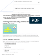 How to Pass Accounting Entries Under GST _ GST Impact on Financials