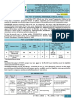 Detailed Advertisement Diploma Trainee 2019