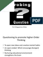 Probing Questions Bhagyashree Oltikar
