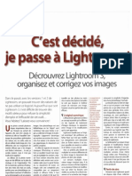 Article Chasseur d'Images Light Room 3
