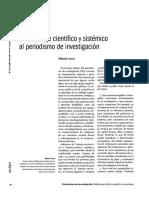 Abordaje científico y sistémico del periodismo de investigación