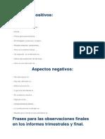 Comentarios Reports en Español