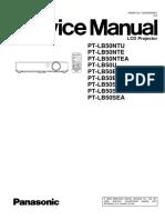 Panasonic PT LB50EA Service ID5350