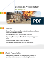 Module 1 Unit 1 Process Safety Risks