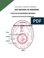 Laboratorio de Ciencia de Los Materiales 20192