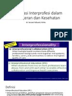 284896_2018_komunikasi_Kolaborasi Interprofesi Dalam Kedokteran Dan Kesehatan (1)