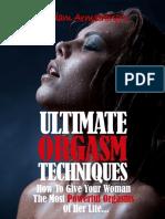 Ultimate Orgasm Techniques