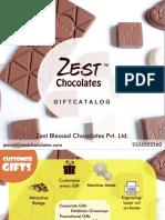 Zest Chocolates Festive Catalog 2019