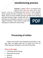 63563675 Textile Manufacturing Process PPT