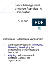 Performance Management and Performance Appraisal