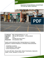 Bucuresti Nicolae Balcescu, Garanti Bank, 135 Mp