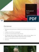 Bollywood Quiz Prelims