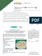 Agar-Agar Salad _ Filipino Style Recipe