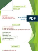 Orbital Parameters of Satellite by Karan Singh Parihar