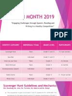 English Month 2019