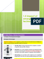 1.5 Impact of Emerging Technologies