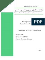 M01_Métier Et Formation en Construction Métallique