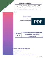 M17_Conception Et Dimensionnement Des Pieds Poteaux Et Fondations