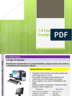 1.4 Types of Computer