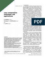 Data Compression Techniques and Applicat