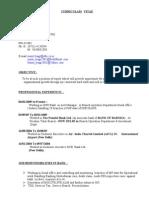 Sumit Tyagi Resume