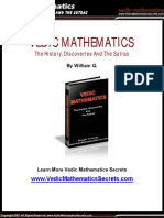 Vedic Mathematics - Ancient Fast Mental Math (Discoveries, History And Sutras).pdf
