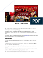 How To Sell Mega888 Online Casino