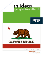 Golden Ideas for a Progressive California