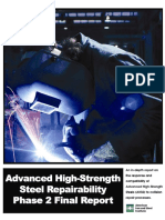 Advanced High Strenght repairability Report2