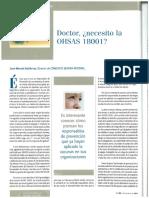 Auditoria y Certificacion Prevencion OHSAS 18001 Ergonomia Psicosociologia