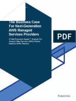 The Business Case for Next Generation AWS Managed Services Providers Oc...