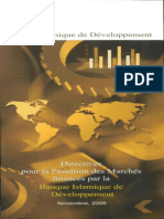Guidelines for Procurement of Goods and Works (French)