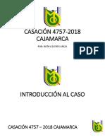 casacion cajamarca 2019
