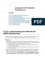 Interconnecting the CSM With U2K