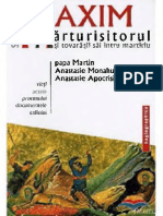 Sf. Maxim Marturisitorul (580 - 662 tovarăşii săi întru martiriu, papa Martin, Anastasie Monahul, Anastasie Apocrisiarul) [2004] - copie