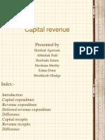 Capital Revenue