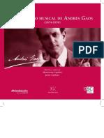 El Universo Musical de Andres Gaos