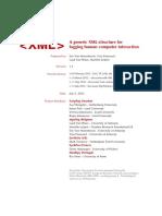 Generic XML Structure Version 1 2