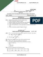 ANU_MBA_2018_1_May_DBUS05 QUANTITATIVE TECHNIQUES FOR MANAGERIAL DECISIONSFirstRanker.com.pdf