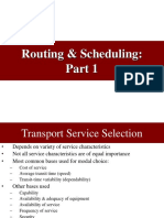 Routing Assignment