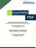 3.1 Cuadro Comparativo. Globalización