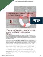 ▶️ Guía + ejemplos para comunicar bien ✔️ una crisis empresarial online