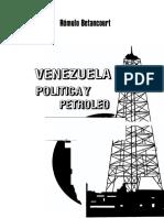 POLITICA Y PETROLEO EN VENEZUELA