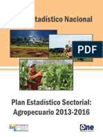 Plan Estadístico Sectorial