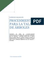 Procedimiento Para Tala de Árboles Apu (1)