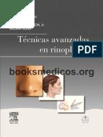 Técnicas avanzadas de rinologia