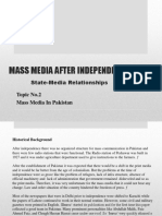 Mass Media After Independence