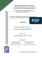 Tesis Estudio Del Inhibidor de Corrosión Para Protección de Las Líneas de Procesamiento de Hidrocarburos