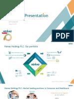 Investor Presentations 2018 2019 q3